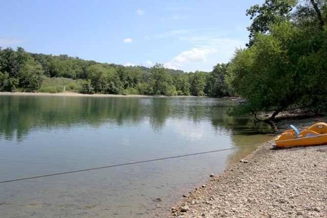 Our beach on Table Rock Lake