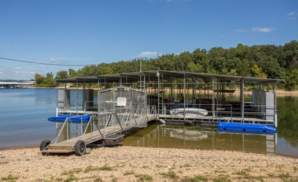 Table Rock Lake floating dock