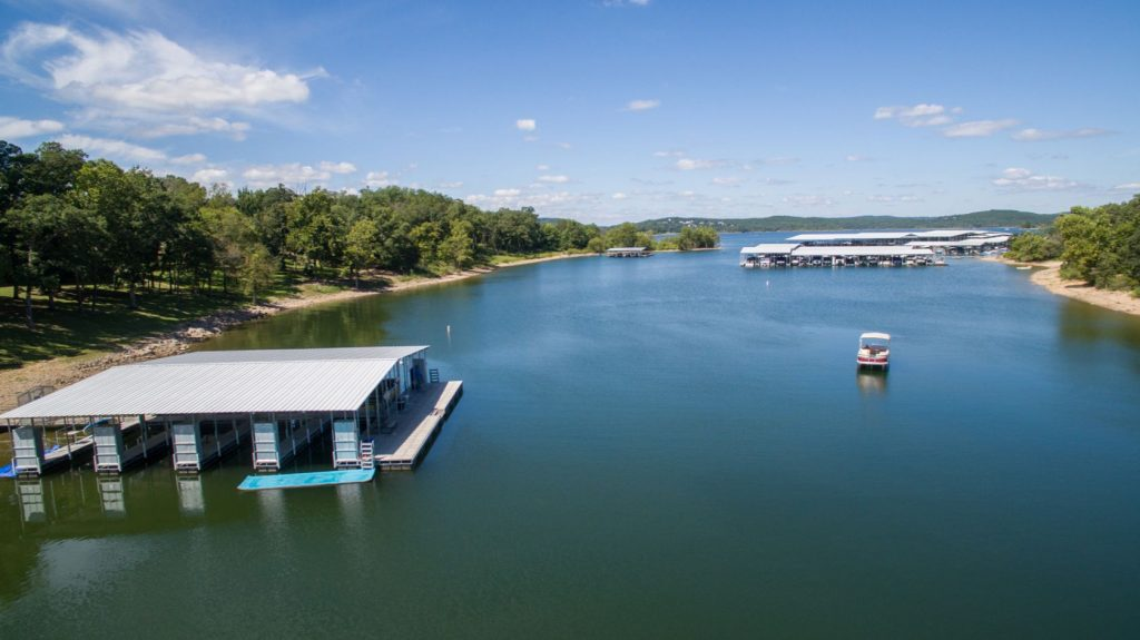 Table Rock Lake boat dock